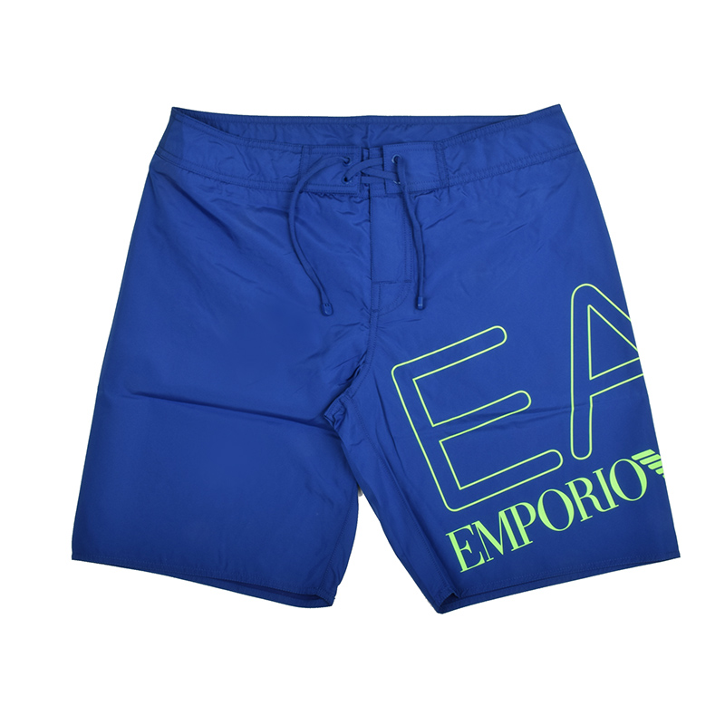 EMPORIO ARMANI EA7 エンポリオ アルマーニ メンズ ビッグロゴブルースイムショーツ 水着 イタリア正規品 新品 9020039 P739