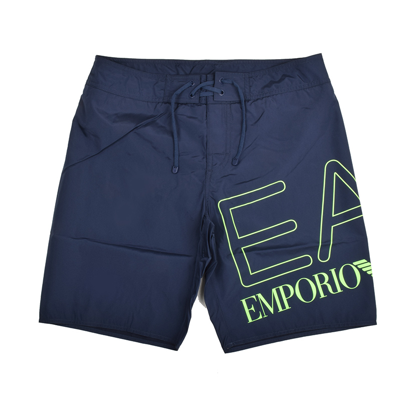 EMPORIO ARMANI EA7 エンポリオ アルマーニ メンズ ビッグロゴネイビースイムショーツ 水着 イタリア正規品 新品 9020039 P739
