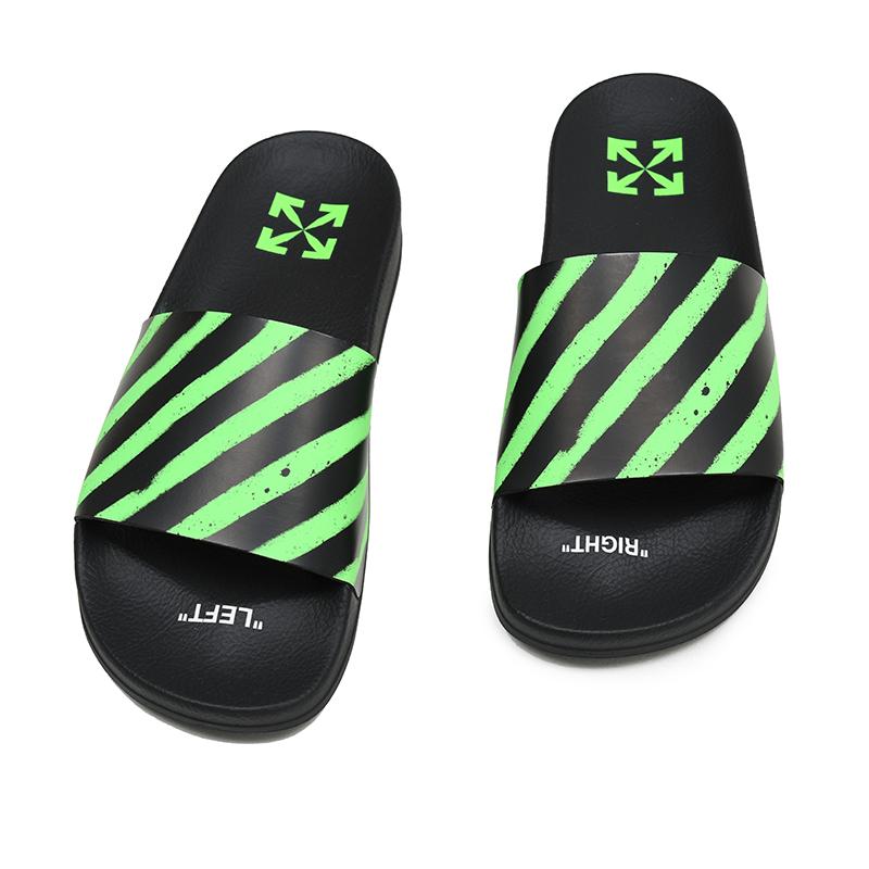 OFF-WHITE オフホワイト グリーンスプレーサンダル 靴 イタリア正規品 OMIA088R20C220521040 新品