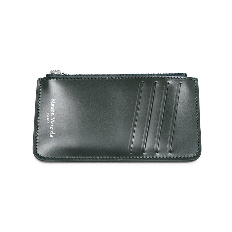 MAISON MARGIELA メゾン マルジェラ ダークグリーンミニウォレット ミニ財布 イタリア正規品 S55UA0023 P2714 T7160 新品