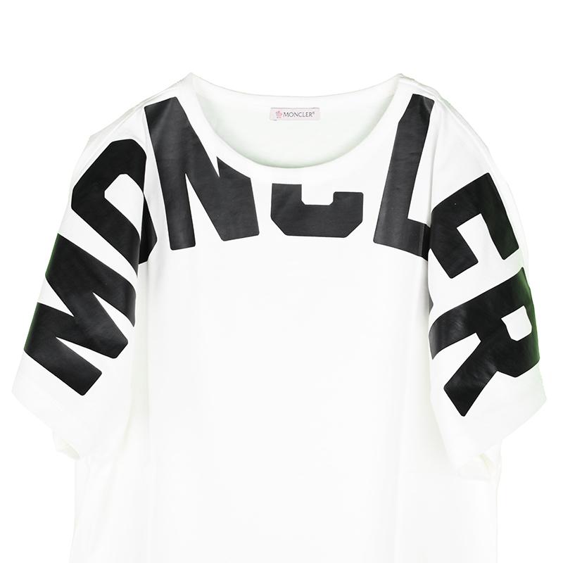 MONCLER モンクレール ビッグロゴ半袖Tシャツ レディース イタリア正規品 8C70710 V8094 新品