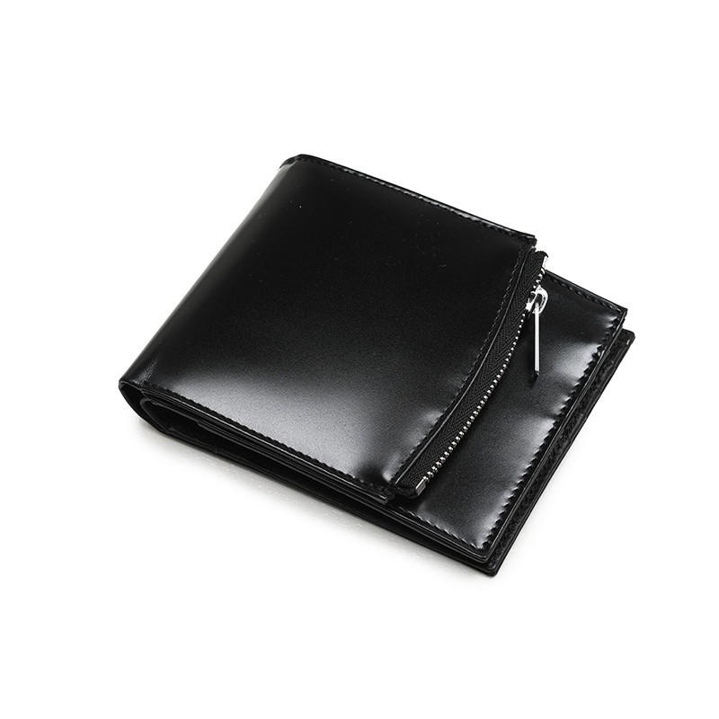 MAISON MARGIELA メゾン マルジェラ ブラック二つ折ウォレット 2つ折り財布 イタリア正規品 S35UI0436 P2714 T8013 新品