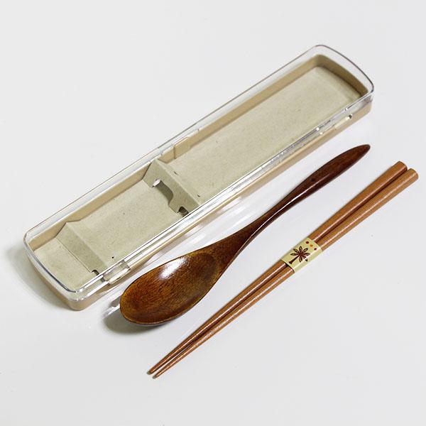 お買得 携帯 箸 スプーン セット コンビセット お弁当 木製 お箸 箸ケース 弁当箱 ナチュラルツイン 携帯箸 『1年保証』
