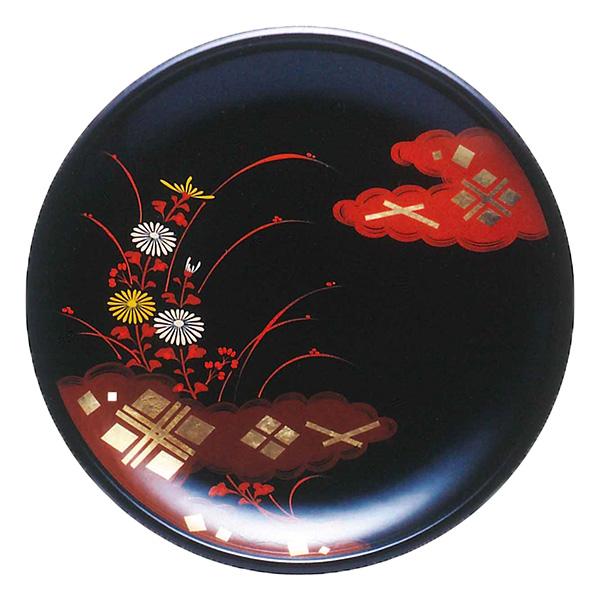盛皿 秀衡塗 (木製 漆器 漆塗り 盛器 ひでひら)