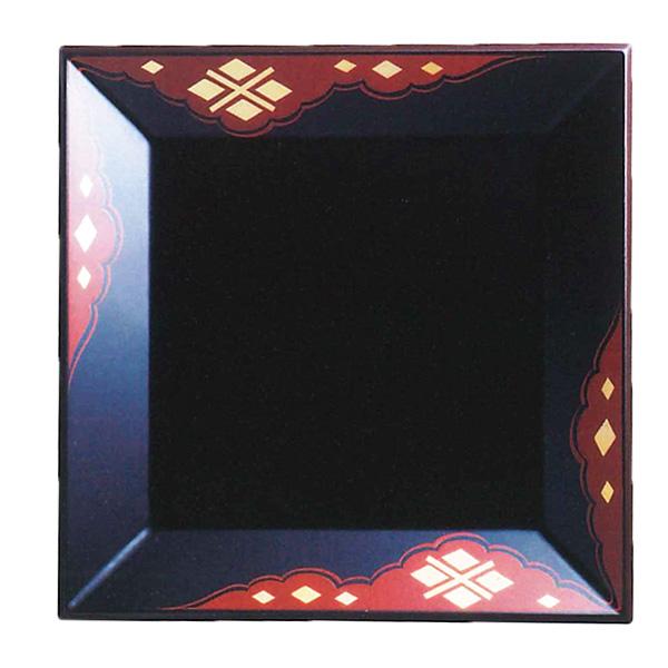 盛皿 四方盆 秀衡塗 木製 漆器 漆塗り 盛器 ひでひら 国産 日本製