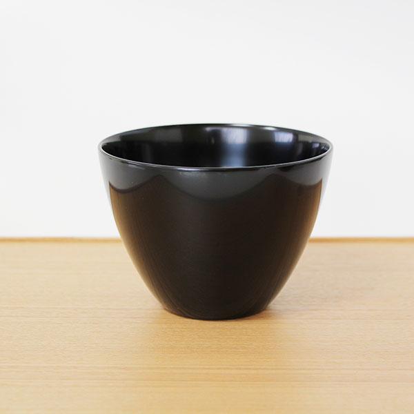 【送料無料】 輪島塗 ランチ丼 黒 (木製 漆塗り お椀 丼 国産)