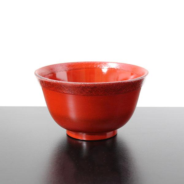 気軽に使える布貼りのお椀 飯椀 飯碗 メーカー公式 羽反り布貼り お椀 中古 根来 ご飯茶碗 木製