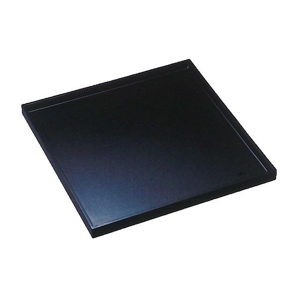 【送料無料】会席盆/会席膳 黒 (角盆 木製 漆器 正角 お盆 お膳) 30cm×30cm