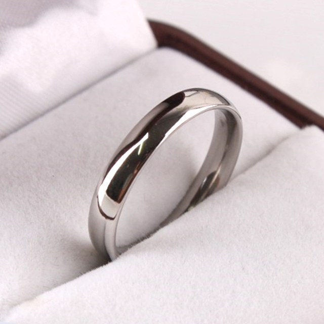 リング 指輪 おしゃれ レディース メンズ アクセサリー サイズ選択可能 プレゼント お祝い 甲丸 ラッピング対象 ピンキーリング ステンレス ギフト 限定価格セール シルバー 現品 幅3mm al3