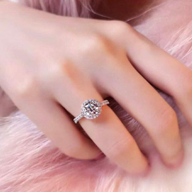 リング 指輪 おしゃれ レディース メンズ アクセサリー サイズ選択可能 プレゼント お祝い ギフト 【ラッピング対象】 キュービックジルコニア リング シルバー レディース 一粒 ジルコニア マリッジリング 結婚指輪 婚約指輪 結婚式 パーティに rg034