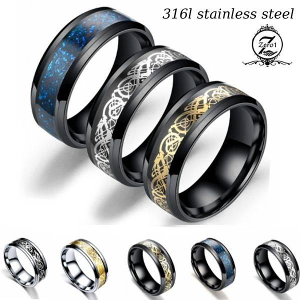 リング 指輪 おしゃれ 永遠の定番 大幅にプライスダウン レディース メンズ アクセサリー サイズ選択可能 プレゼント お祝い ギフト ステンレス ラッピング対象 シルバーリング ブラックリング ペアリング ゴールドリング ブルーリング vo2 全7色