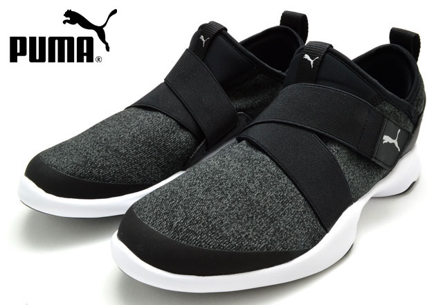 Puma 367310 PUMA DARE AC sneakers slip ons Lady's woman 02 black silver shoes