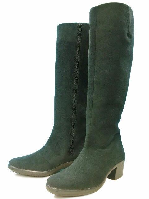 送料無料 トップドライ TOPDRY ロングブーツ 完全防水 レディース 婦人 ブラック ダークブラウン 黒 濃茶 3894 靴