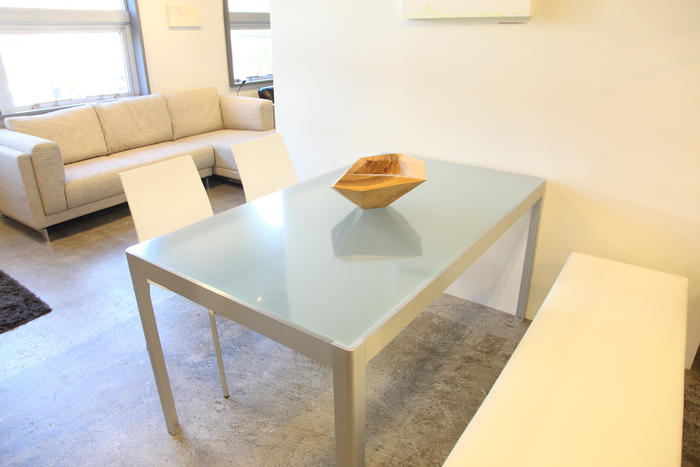【W150cm×D85cm/ST1882-1.5専用テーブル保護マット/ガラスダイニングテーブル保護マット/食卓テーブル保護マット】