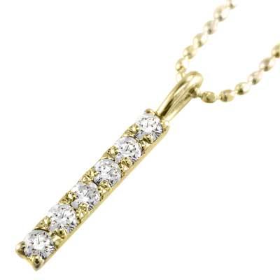 ジュエリー ネックレス プレート レディース 4月誕生石 天然ダイヤモンド k10ゴールド 約0.12ct 小サイズ (ホワイト イエロー ピンク)