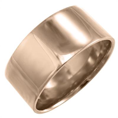 約10mm幅 重量感抜群 特大サイズ 平らな指輪 幅広 ピンク 安心の実績 高価 買取 強化中 18金ゴールド 指輪 イエロー ホワイト 人気の製品