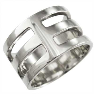 平打ち リング 小指 指輪 k18ゴールド 約1cm幅 特大サイズ (ホワイト イエロー ピンク)