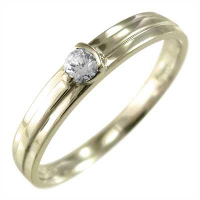 指輪 4月誕生石 天然ダイヤモンド レディース 10kゴールド ピンク ホワイト イエロー 安心と信頼 5%OFF 約0.10ct