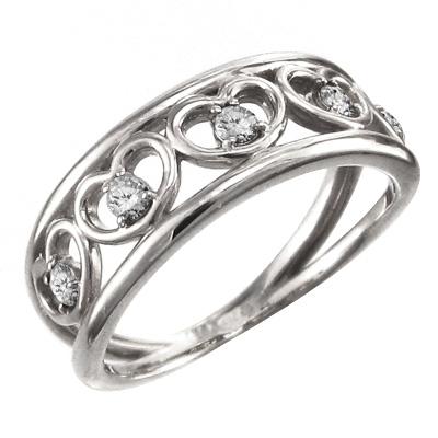 55%以上節約 指輪 ハートライン ハートライン メンズ 5連ハート 4月誕生石 天然ダイヤモンド 白金(プラチナ)900 約0.25ct 指輪 5連ハート, 文具ステーションフジワラ:39f00fb8 --- crisiskw.com