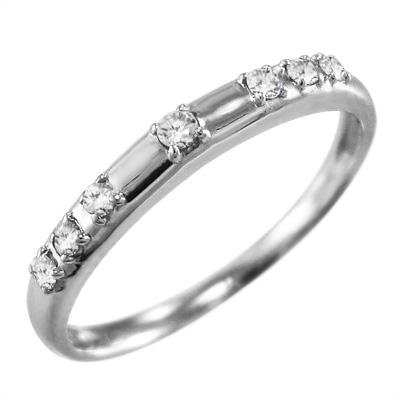 リング/ブライダル/リング/レディース/4月誕生石/天然ダイヤモンド/Pt900/約0.07ct