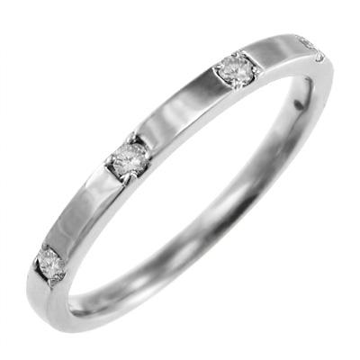 結婚指輪にも レディース 4月誕生石 天然ダイヤモンド ゴールドk10 約0.10ct (ホワイト イエロー ピンク)