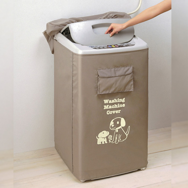 洗濯機すっぽりカバー 送料無料 屋外洗濯機を風雨から守る 洗濯機カバー ベージュ 秀逸 全自動洗濯機用 激安☆超特価 ゆうパケット 防水 雨よけカバー ベランダ 屋外
