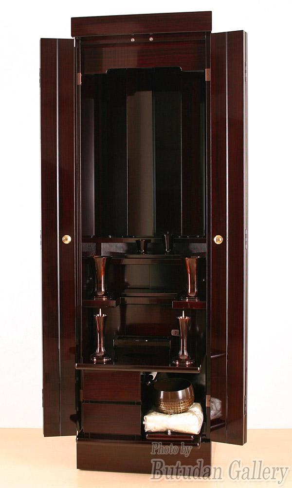 創価学会家具調仏壇新世紀ローズ紫檀【無料でお部屋まで設置します】