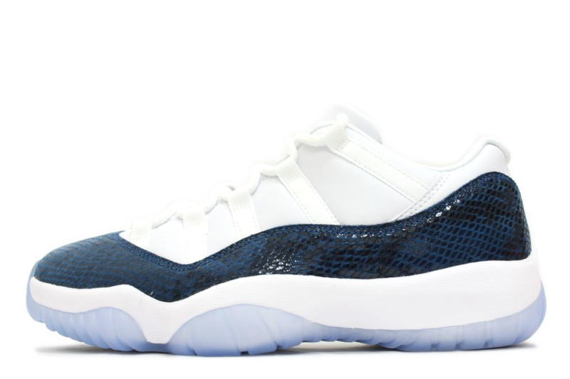 air jordan 11 retro low le snakeskin