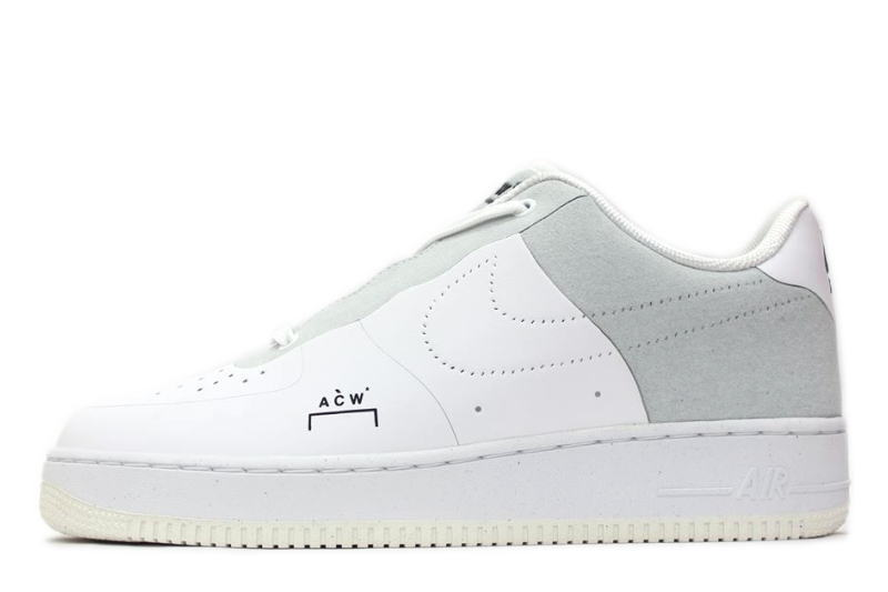 NIKE AIR FORCE 1 07 ACW A COLD WALL WHITE BQ6924 100 ナイキエアフォースワンアコールドウォール