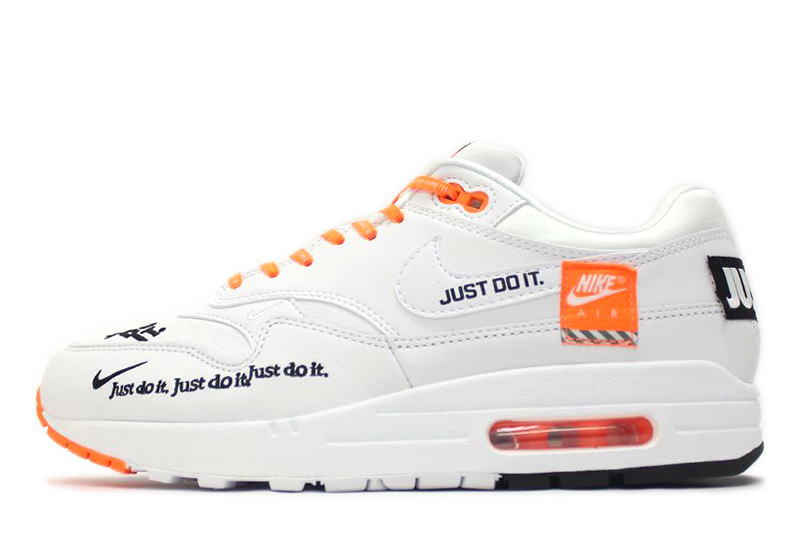 online retailer many styles huge sale NIKE WMNS AIR MAX 1 LX JUST DO IT PACK WHITE 917,691-100 Nike women Air Max  1 white