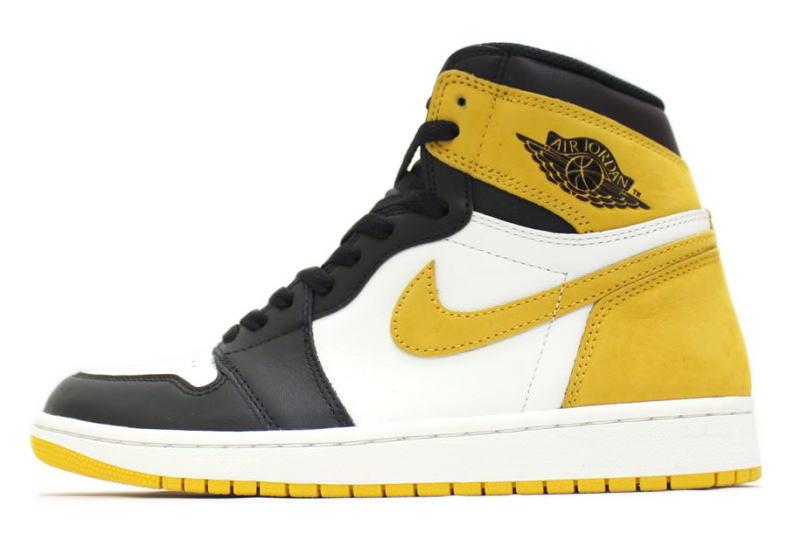 top quality hot sale online factory outlet NIKE AIR JORDAN 1 RETRO HIGH OG YELLOW OCHRE 555,088-109 Nike Air Jordan 1  nostalgic high yellow ocher