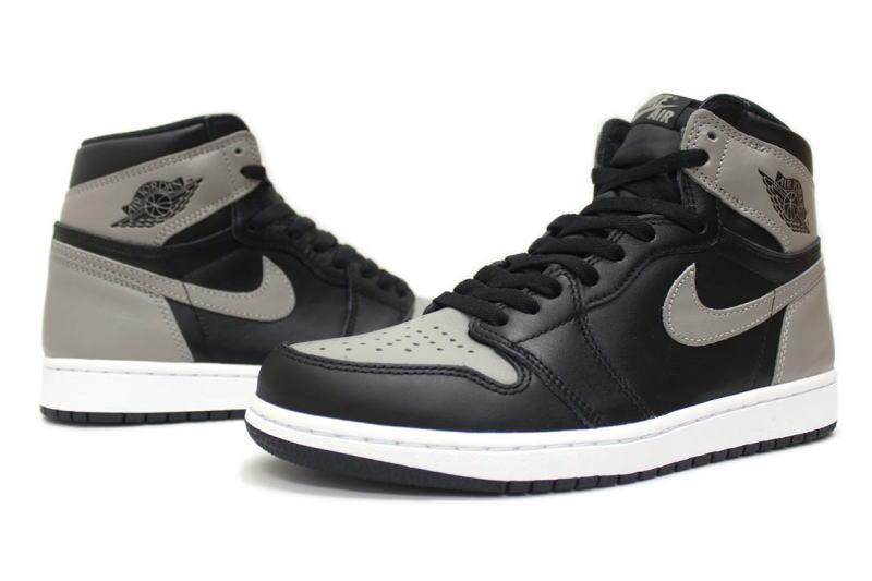 ogromna zniżka 100% autentyczności Trampki 2018 NIKE AIR JORDAN 1 RETRO HIGH OG SHADOW 555,088-013 Nike Air Jordan 1  nostalgic high shadow