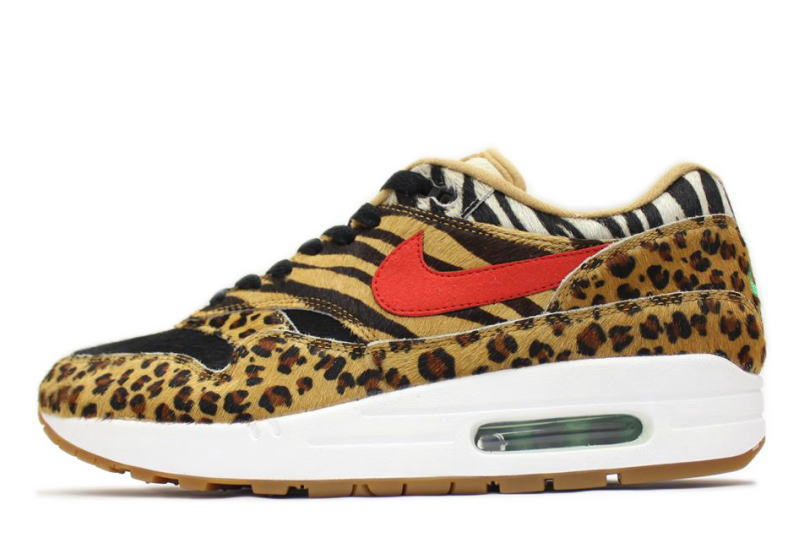 atmos Nike Air Max 1 Animal Pack AQ0928 700 | SneakerFiles