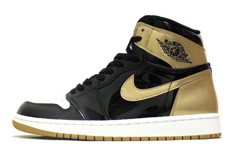 nike high top gold