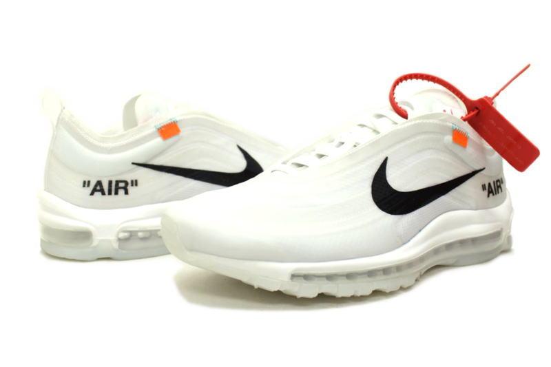 It is AIR MAX 97 OG OFF WHITE VIRGIL ABLOH AJ4585 100 Kie Ney AMAX 97 off white Virgil horsefly low NIKE THE 10
