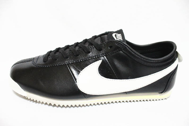 487,777-014 NIKE CORTEZ CLASSIC OG LEATHER black and white ナイキコルテッツクラシック