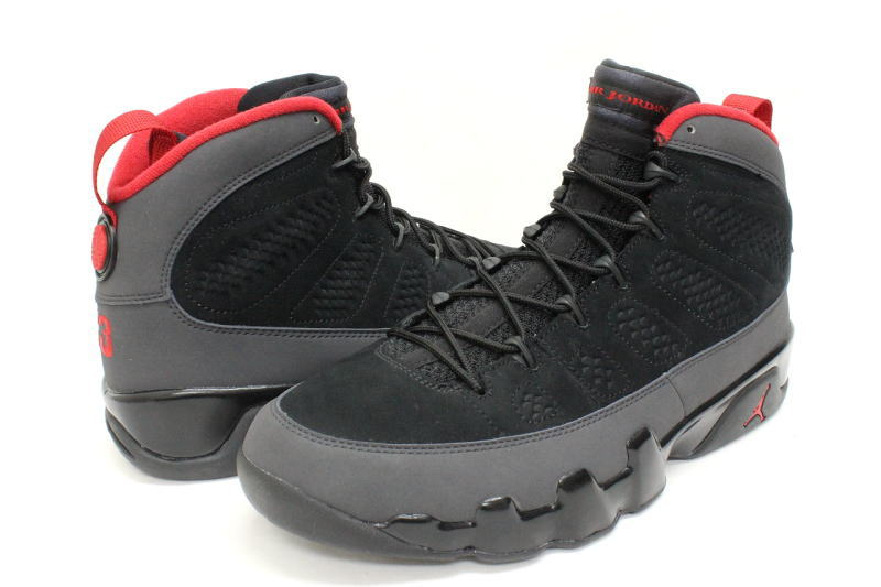 the best attitude 5d94a de4da 9 NIKE AIR JORDAN RETRO black X red 302,370-005 nike Jordan bread BRED