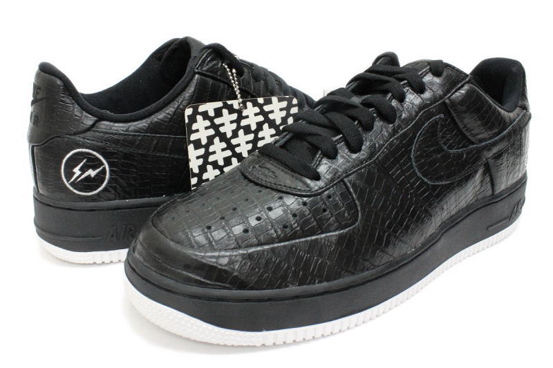 150 pairs of NIKE HTM AIR FORCE 1 FRAGMENT crocodile black Niigata charity limited 305,895 003 Nike Air Force One fragment Hiroshi Fujiwara