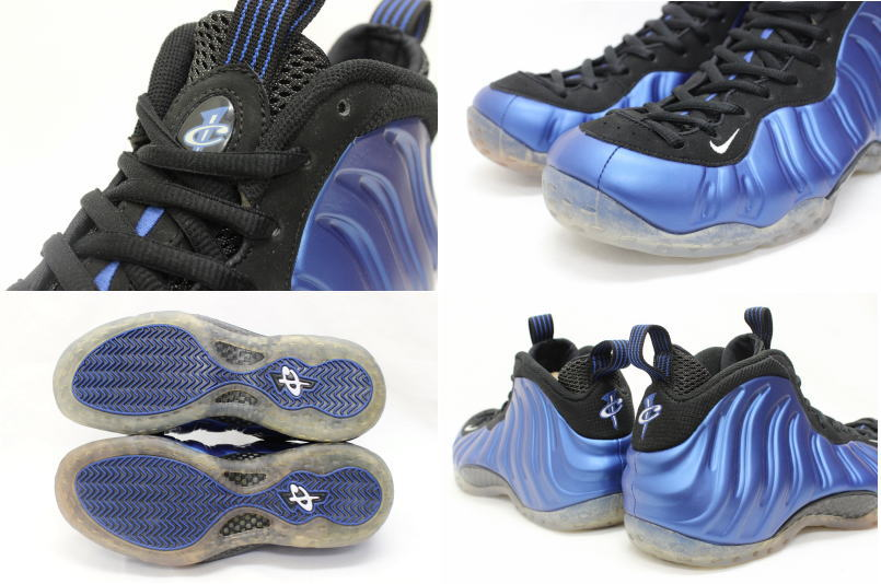 newest a5156 53e78 314,996-500 NIKE AIR FOAMPOSITE ONE DARK NEON ROYAL ナイキエアフォームポジットワンネオンロイヤル  blue