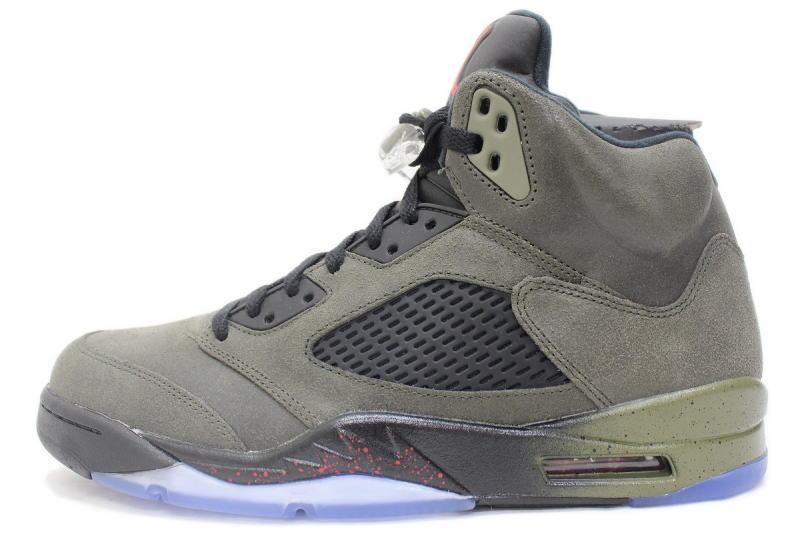 2545ff41897 NIKE AIR JORDAN 5 RETRO FEAR PACK 626971-350-Nike Air Jordan 5 retro ...