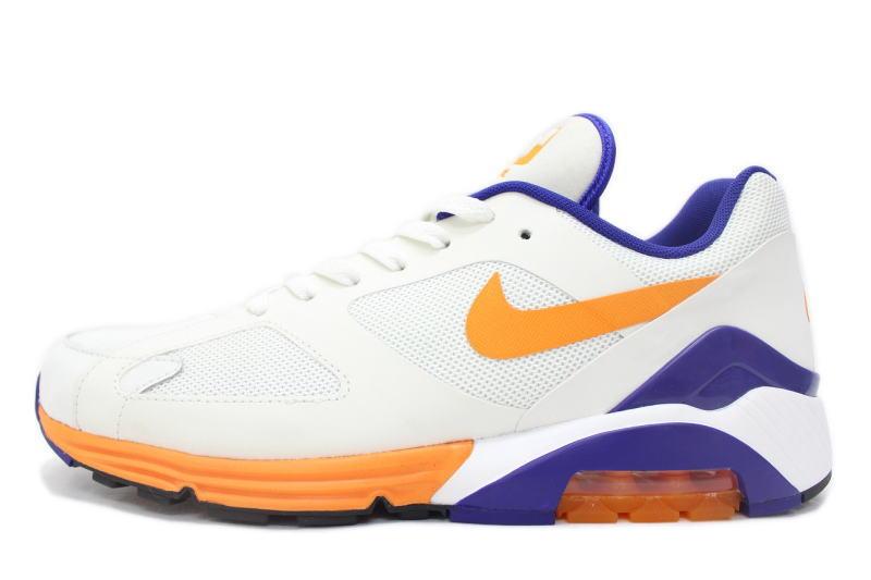 NIKE AIR MAX TERRA 180 QS White x purple orange 626500 100 Nike Air Max Terra 180