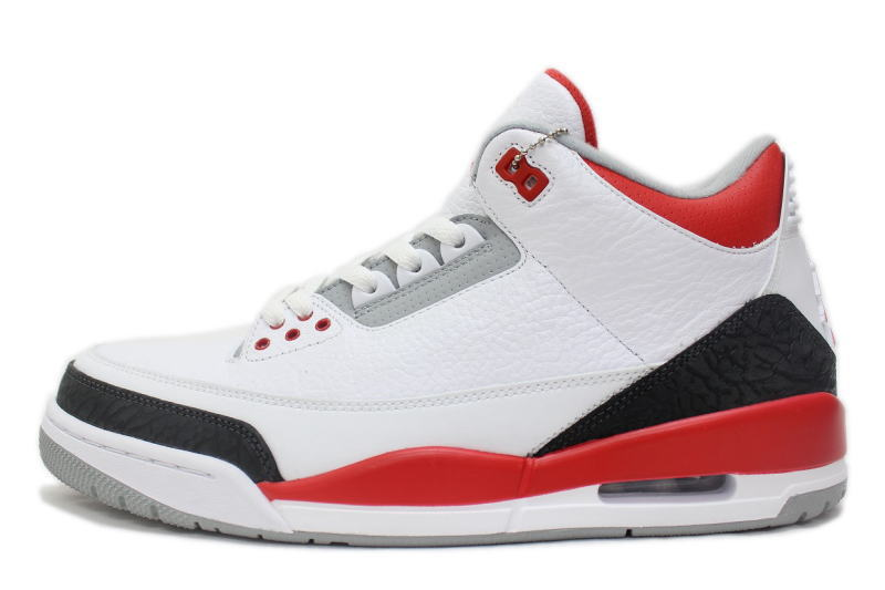 air jordan 3 retro white red
