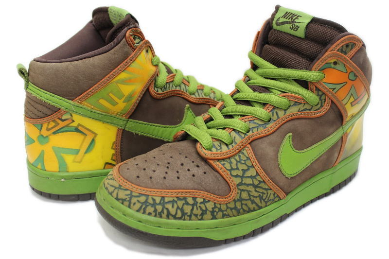 detailed look 41a00 4c90e NIKE DUNK HIGH PRO SB DE LA SOUL 305050-231 Nike Dunks high de la soul