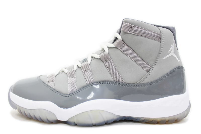 promo code f7da9 c683b 11 378,037-001 NIKE AIR JORDAN RETRO COOL GREY nike Air Jordan 11 nostalgic  cool gray ash X white