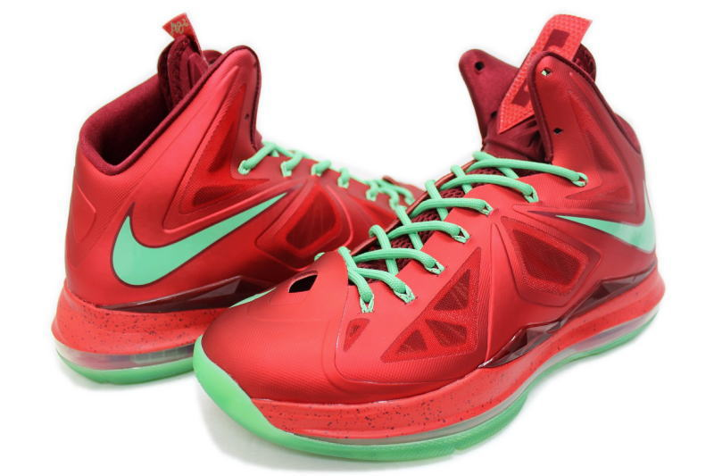 factory price 6d856 c46a4 CHRISTMAS 541100-600, 10, NIKE LEBRON Nike LeBron 10 Christmas REBLON X