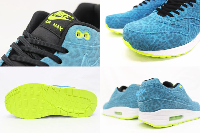 NIKE AIR MAX 1 FB Blue Leopard 572220 440 Nike Air Max Wan