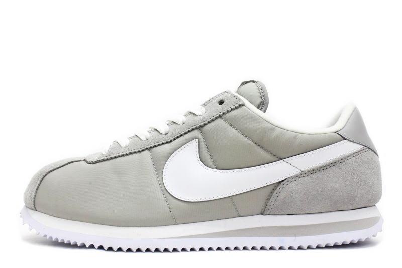 best service 2a8c7 5a9e8 NIKE CORTEZ BASIC NYLON   06 gray x white overseas limited color 317249-003  Nike Cortez basic nylon