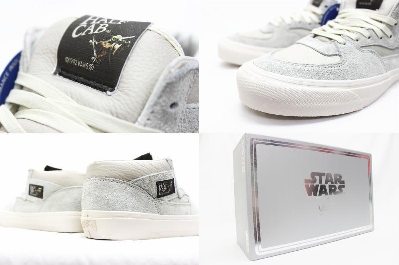 129e771852 VANS OG Half Cab LX VAULT STAR WARS Yoda Turtledove VN-0Y7XEN5 vans half  cab Wort Star Wars iodaturtle daube