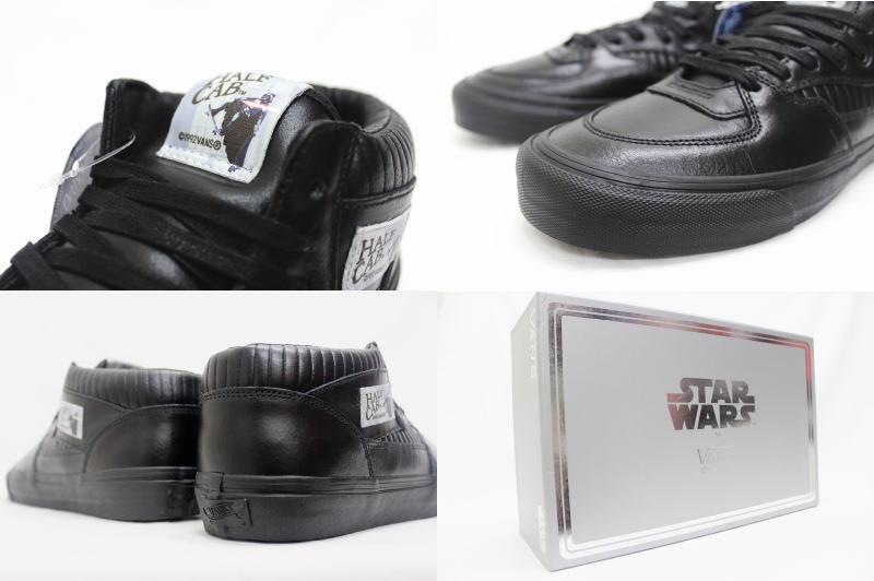 11d2048dbc VANS OG Half Cab LX VAULT STAR WARS Darth Vader BLACK VN-0Y7XEN4 vans half  cab Wort Star Wars dozen Vader black