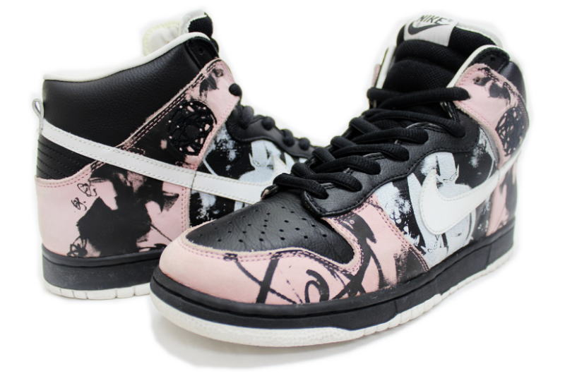3fdb268e4fd2 NIKE DUNK HIGH PRO SB UNKLE 306060-013 Nike Dunk high Pro ankle FUTURA  Futura